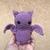 Light Purple Bat Amigurumi