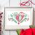 #35 Christmas owls Merry Christmas Modern Cross Stitch Pattern, cute funny owls