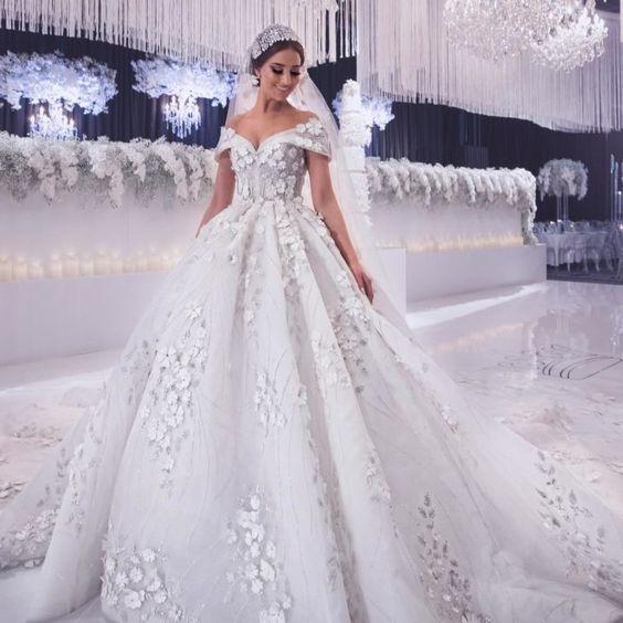 boho wedding dresses 2020 vestido de novia lace applique beaded luxury elegant