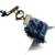 Frayed denim cuff bracelet, boho bracelet, recycled denim, upcycled jewelry,