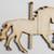 Carousel Horse Ornament / Laser Cut Wood