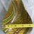 Repurposed, Antique Wooden Pear Shaped Bowl, Abstract Design