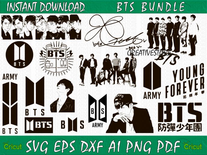 BTS Logo SVG, Bangtan Boys png, Beyond The Scene svg, Btscomebackspecial png,