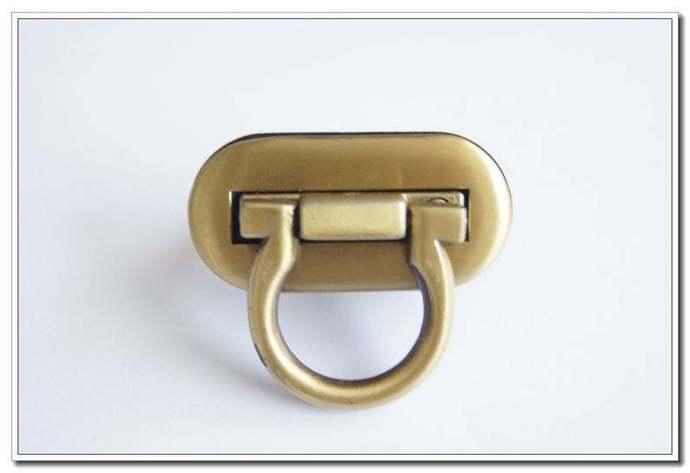 4cm X 2cm twist-locks Purse Flip Locks puse locks,antique brass finish,bag