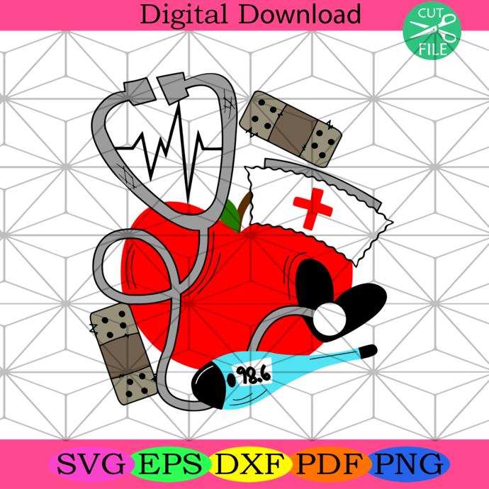 Nurse stethescope svg,nurse svg,nurse gift, funny nurse gift, gift for