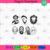 Halloween icons, Halloween Svg, Nightmare Svg, Chucky Doll Svg, Chucky Doll
