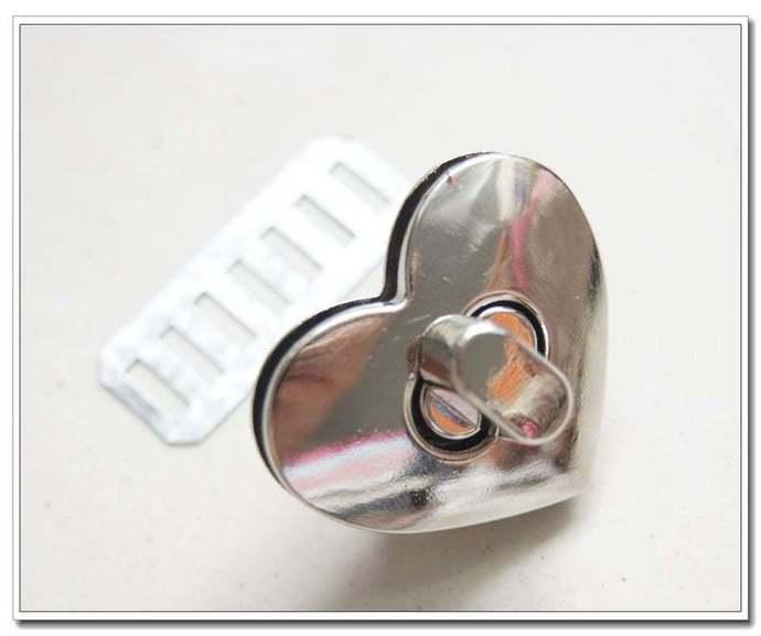 32mm x 28mm nickel twist-locks Purse Flip Locks puse locks turn lock handbag
