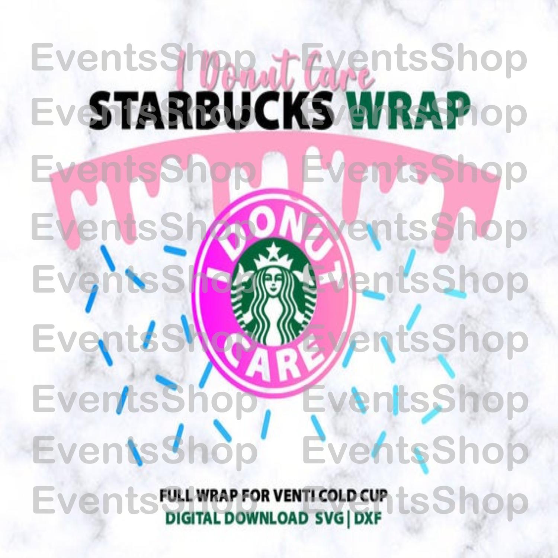 Full Wrap Donut Drip For Starbucks 24oz Venti By Evansshop On Zibbet