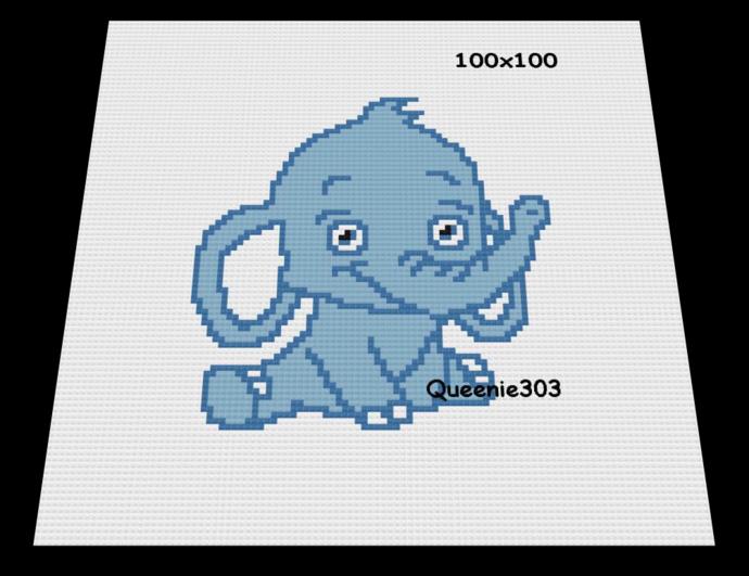 Elephant 100x100