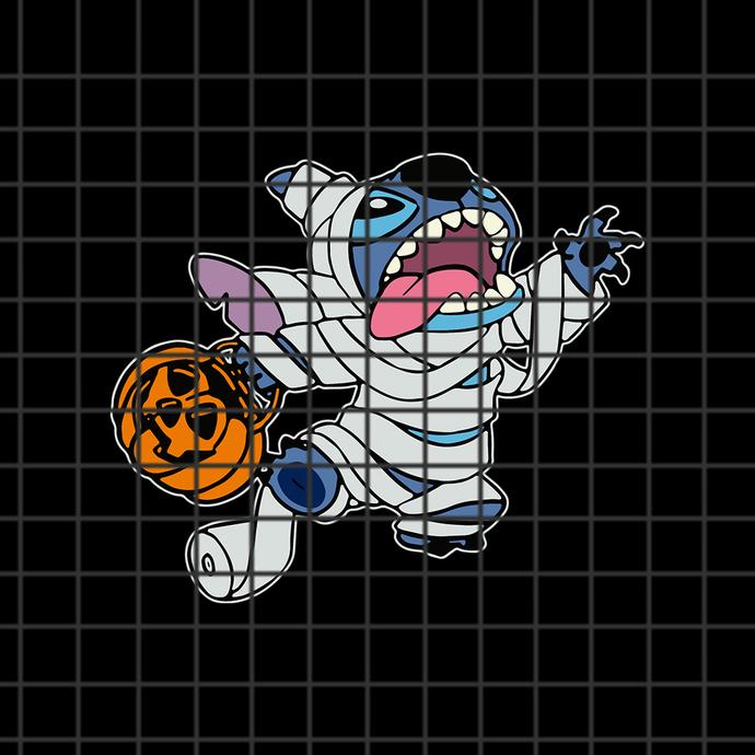 Mummy Stitch Svg Stitch Svg Disney Svg By Svgdesignshop On Zibbet