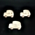Pkg of 3 Handcrafted Wood Toy  Cars 75AAH-U-3 finished or unfinished