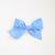 Large Lizzy Clip - Royal Blue Herringbone