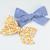 Medium Lizzy Bow - Golden Clover