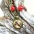 Gift under $30 Brown, Yellow & orange vintage style bird art pendant, limited
