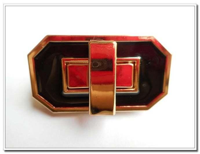 1 pcs twist-locks Purse Flip Locks purse locks golden