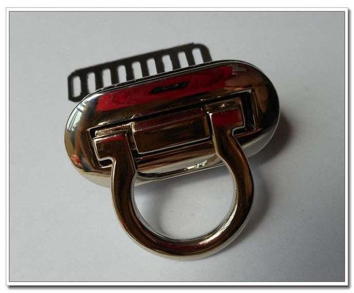 4cm X 2cm twist-locks Purse Flip Locks purse locks, silver finish, purse making