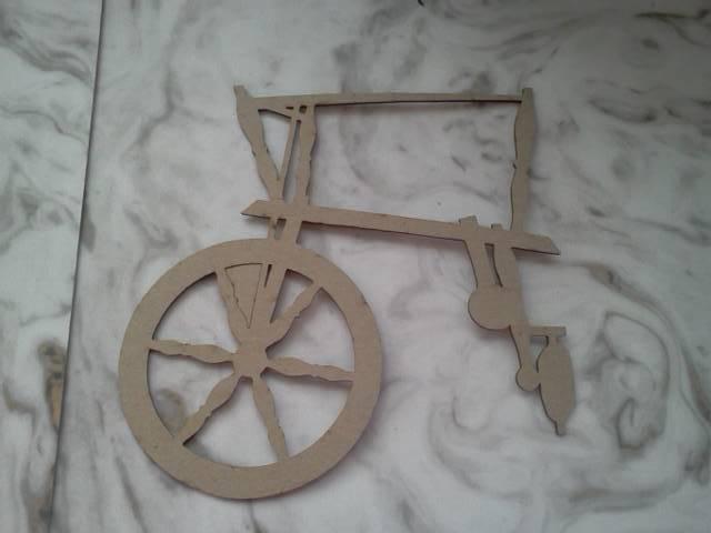 Spinning Wheel Chipboard*