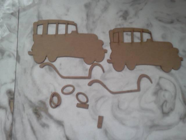 Chipboard Cars*