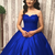 Appliques Ball Gown Prom Dresses, Formal Sweet 16 Dresses