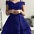 Dark  Sleeveless Satin Short Homecoming Dress