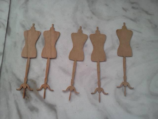 Chipboard Dressforms*