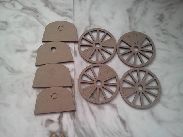 3D Wheels*