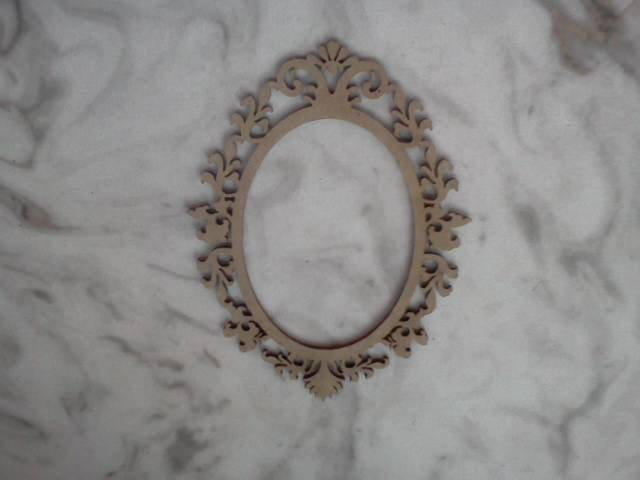 Chipboard Picture Frame*