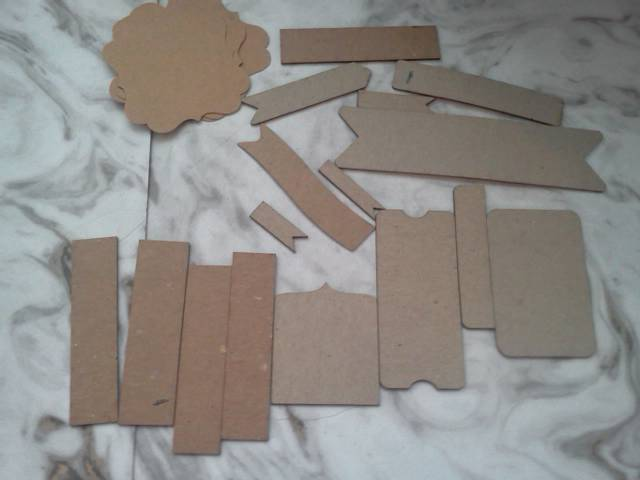 Chipboard Shapes*