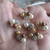 6 x Pearl Flower Embellishments - Please Choose your Colour