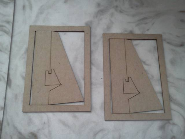 ATC Frame and Easel*