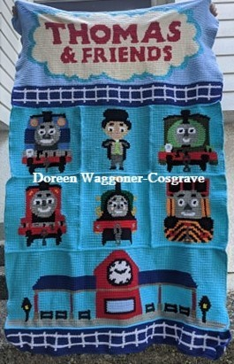 Thomas & Friends SC Bundle with 9 Patterns includes Graphs with Color Block