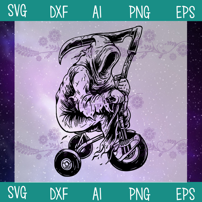 The Dead Driver Children's Bicycles SVG, Funny Dead SVG, The Dead Vector, SVG,