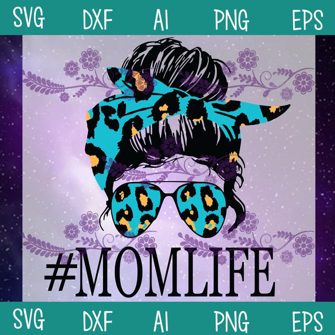 Mom Life Svg, Aviator Glasses Svg, Digital Design, Mom Svg, Life Svg, SVG, DXF,
