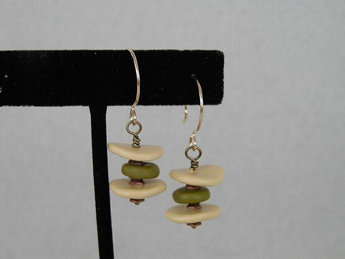 Polymer Clay/Metal Earrings