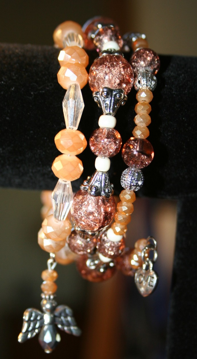 Amber Memory Wire Stack