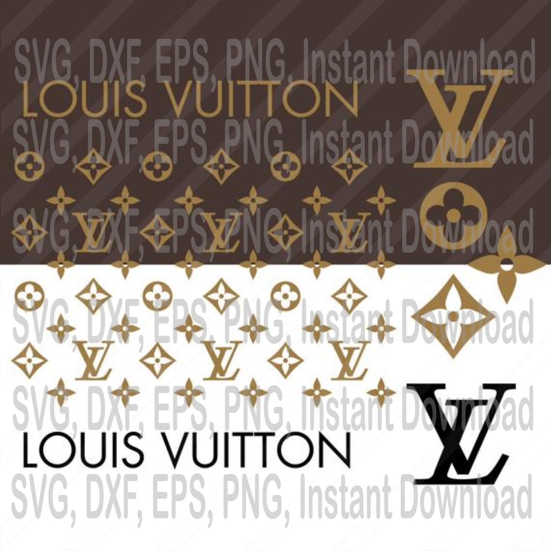 Louis Vuitton Pattern Svg Louis Vuitton Svg Lv By Eventsshop On