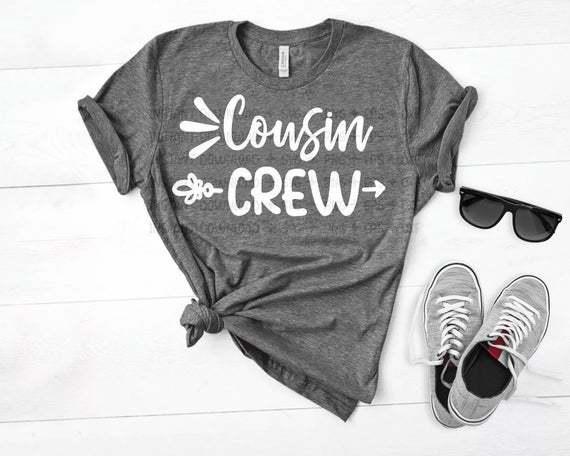 Cousin Crew Svg, Cousin svg, Family svg, Reunion svg, Summer svg, Cousin Camp