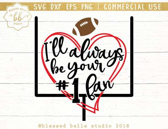 Football Mom SVG, dxf, eps, png, Number one fan svg, football svg, football mom