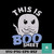 This is boo sheet svg, halloween svg, png, dxf, eps digital file HLW0181