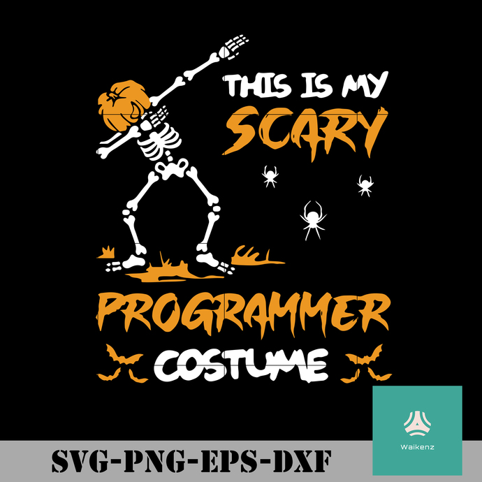 This is my scary programmer costume svg, halloween svg, png, dxf, eps digital