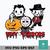 Tiny terrors svg, halloween svg, png, dxf, eps digital file HLW0202