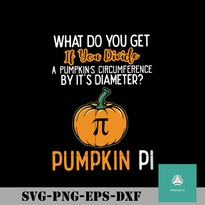 What do you get if you divide a pumpkins circumference by its diameter pumpkin