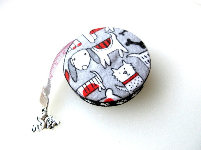 Small Tape Measure Dog Mix Retractable Measuring Tape