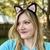 Cat & Fox Ears Headband for Kids & Adults (Halloween Costume) Crochet Pattern -