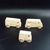Pkg of 3 Handcrafted Wood Toy Vans  OT-87-3-AAH   unfinished or finished