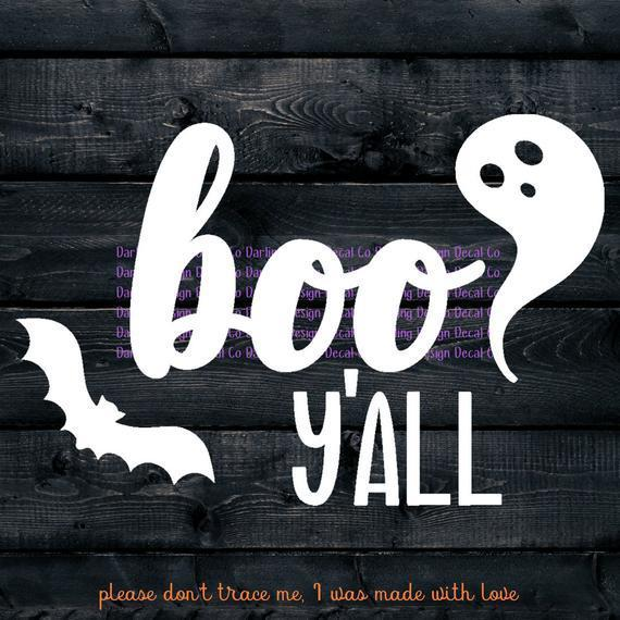 Boo Y All Svg Halloween Svg Ghost By Theking Svg File On Zibbet