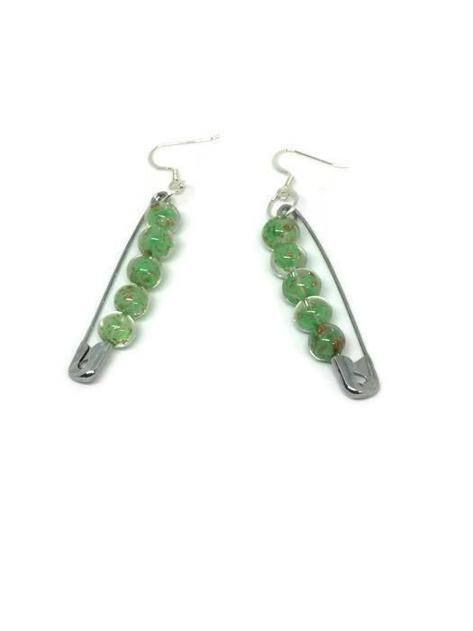 Safety Pin Earrings| Seamstress earrings
