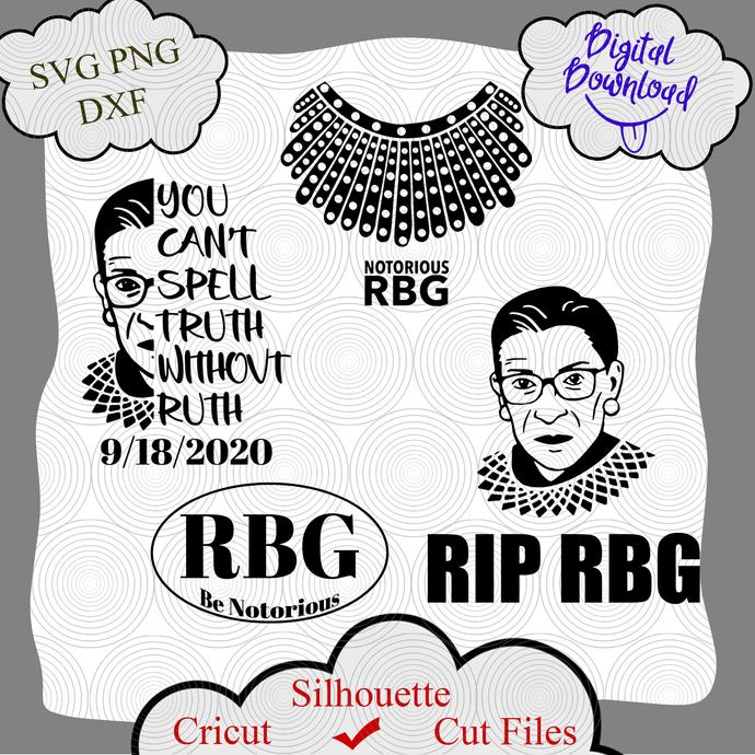 Ruth Bader Ginsburg Bundle Rbg Be Notorious By Digital4u On Zibbet