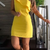 Satin Homecoming Dress , Short Homecoming Dress