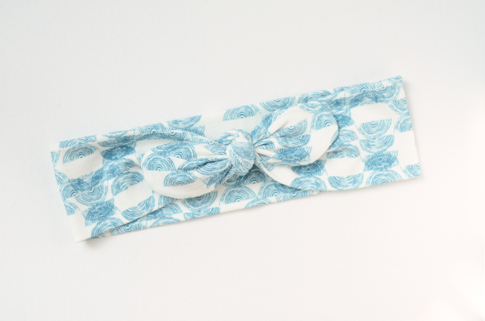 Adult Retro Bow Headband - Stamped Vector